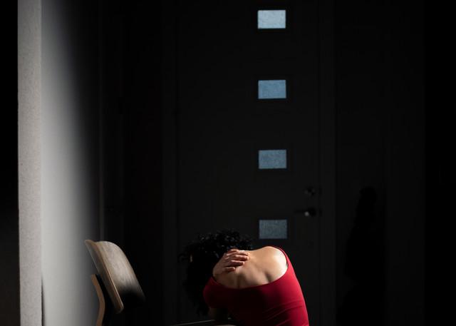 Gone - Abstract Portrait Photography - Fine Art Print by Silvia Nikolov