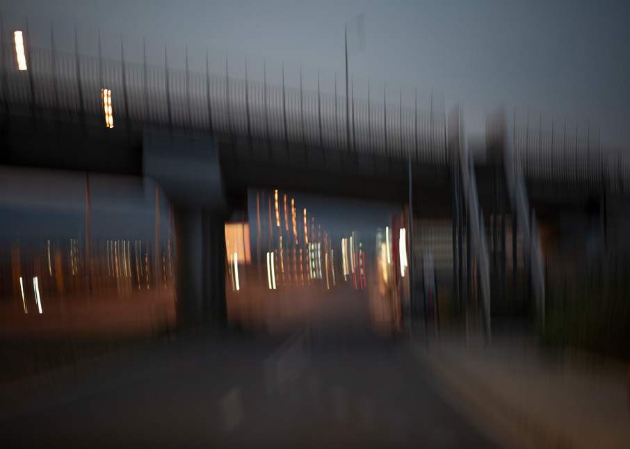 Moments On the Road #12 - Abstract Street Photography - Fine Art Print by Silvia Nikolov