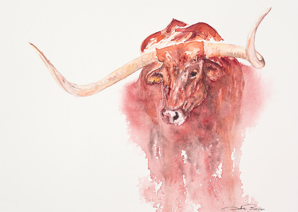 Big Red  Art | Debra Bruner Studio