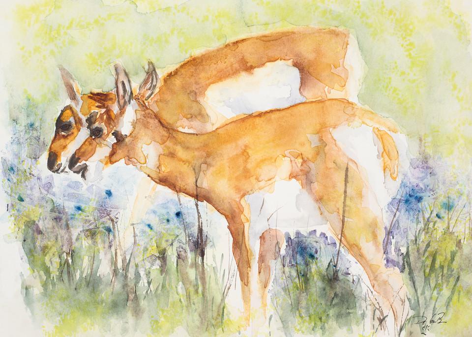 The Long Yearlings  Art | Debra Bruner Studio
