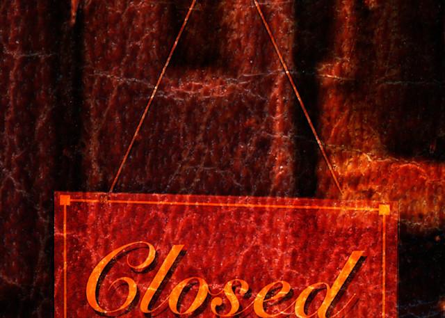 Closed Red Photography Art | Caplan Studios Vault, LLC