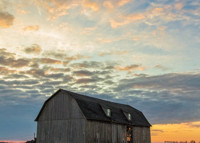 Daybreak On The Farrm by Mike Caplan