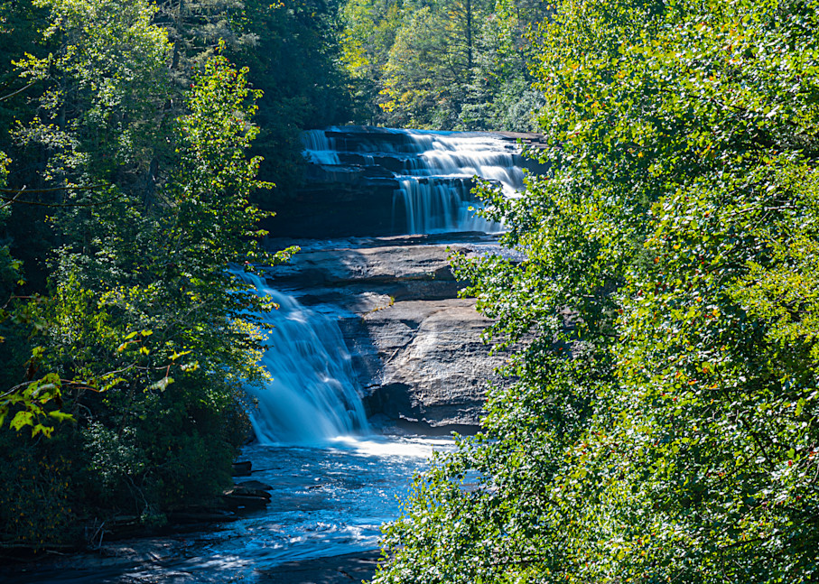 Triple Falls Summer View Photography Art | draphotography