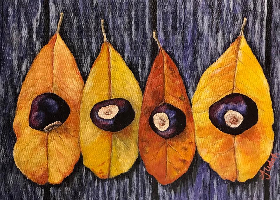 Autumn Leaves Art   alanajudahart