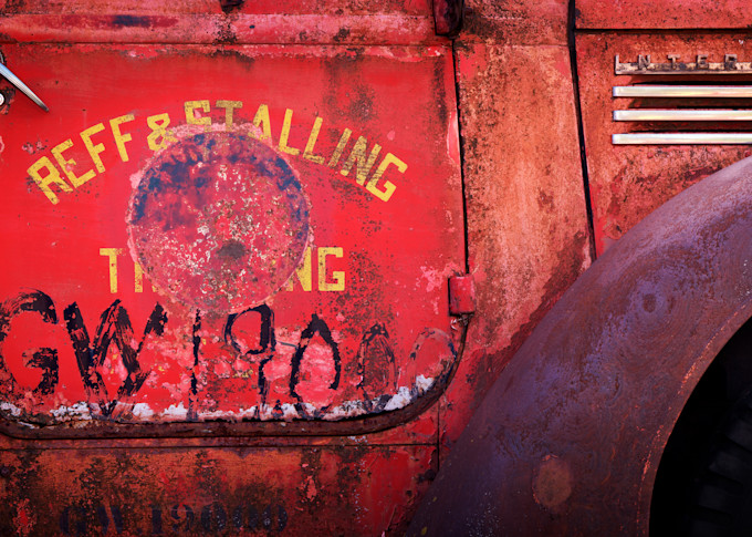 Red Truck Photography Art   templeimagery