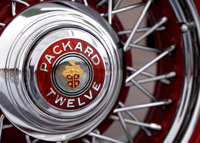 Packard Twelve Photography Art | templeimagery