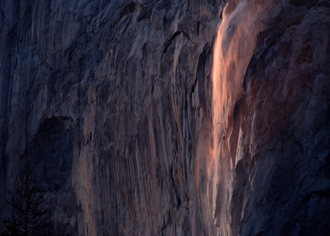Firefalls Pink Photography Art | templeimagery