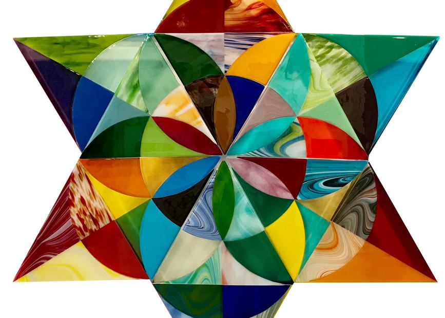 Merkaba Activation Cut White Art | Natalie Ventimiglia Studios