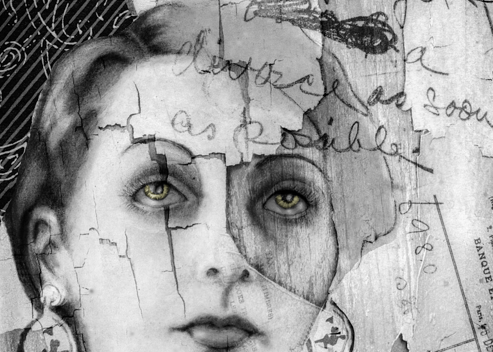 June Miller No. 1, Print,  2019 by artist Carolyn A. Beegan