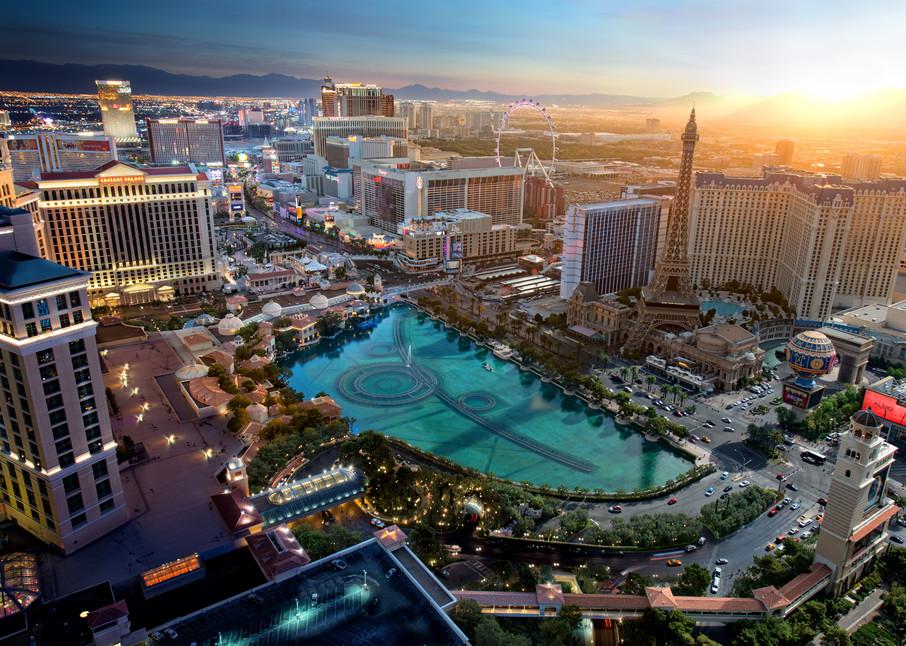 Vegas Sunrise Photography Art | templeimagery