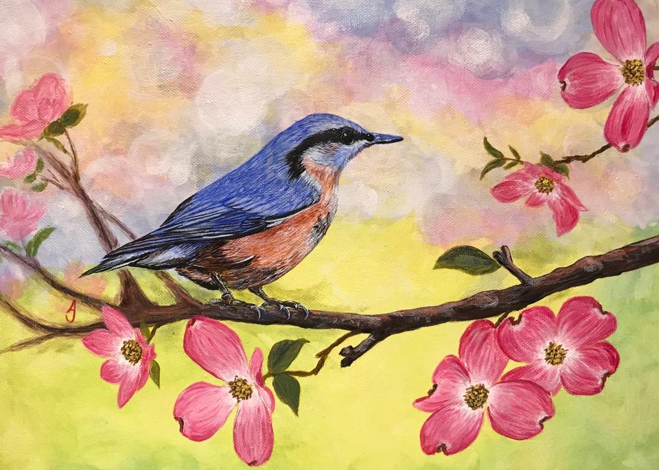 Welcome Spring Art | alanajudahart