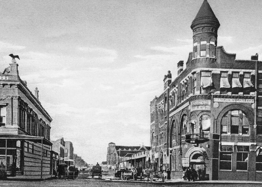Rusk Avenue, Looking North, Denison, Texas Art | Randy Sedlacek Photography, LLC