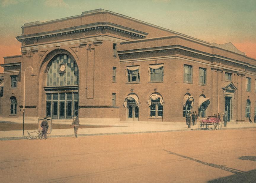 Union Depot, Denison, Texas Art | Randy Sedlacek Photography, LLC