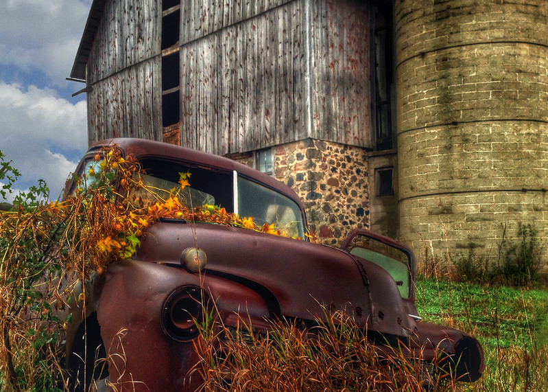 Ococomowoc Vegetable Truck Ii Photography Art | Mark Stall IMAGES