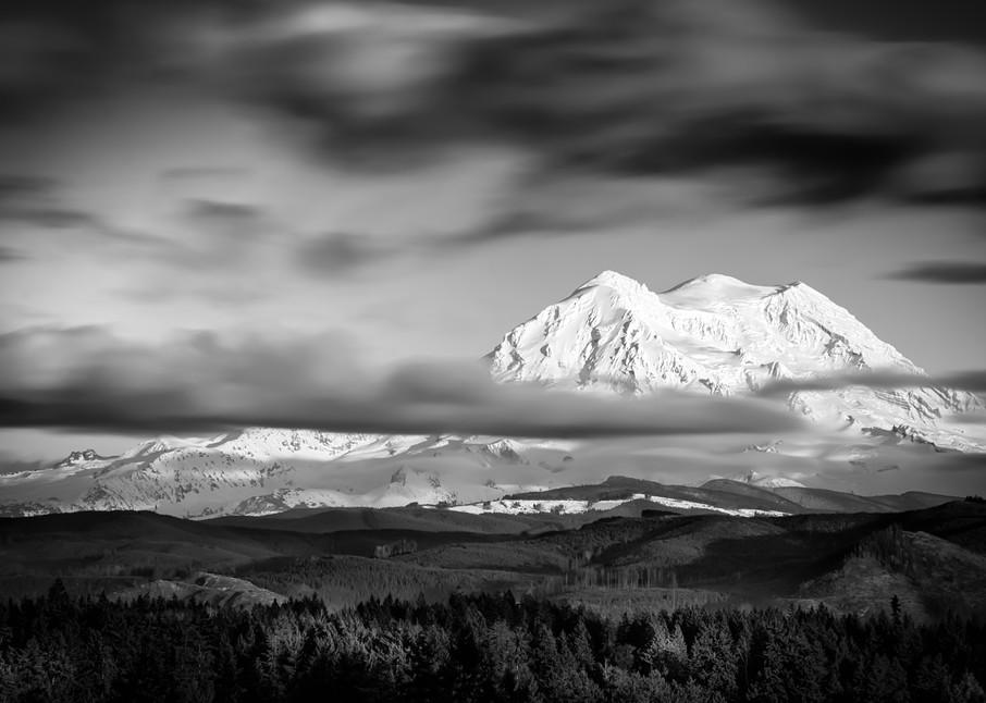 Mount Rainier Long Exposure