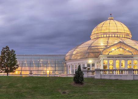 Conservatory Cloudy - St Paul Pictures | William Drew Photography