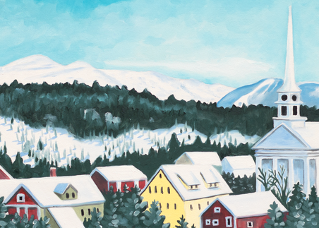 Stowe Village Art for Sale