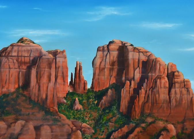 Western View    Red Rock Art | MMG Art Studio | Fine Art Colorado Gallery