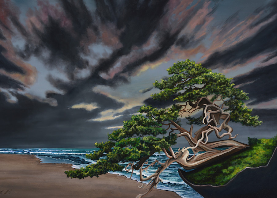Bonsai On The Beach Art | MMG Art Studio | Fine Art Colorado Gallery