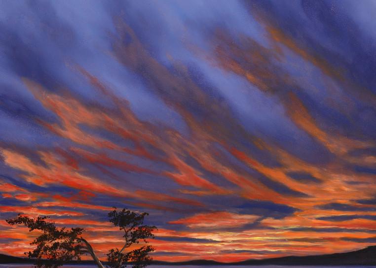 Lake Sunset Art | MMG Art Studio | Fine Art Colorado Gallery