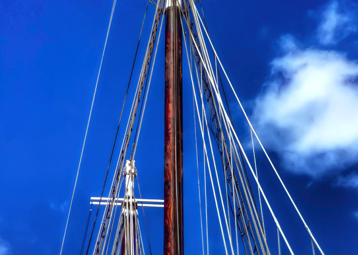 Key West Cross Masts Art | Mark Stall IMAGES