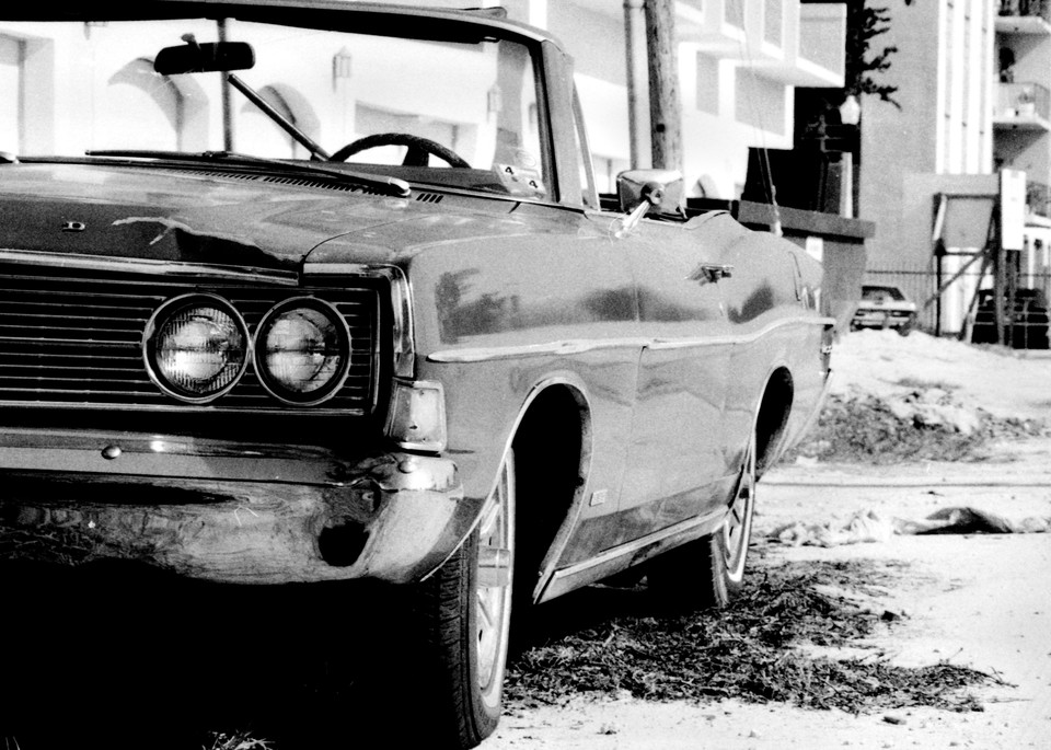 Half A Ford Convertible Photography Art | Peter Welch