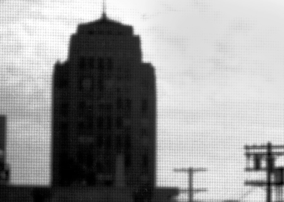 Ominous Building Photography Art   Peter Welch
