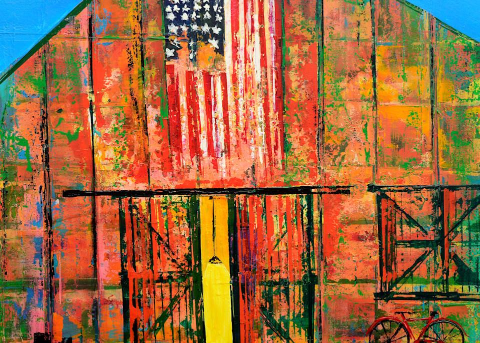 Barn Door Art   benbonart