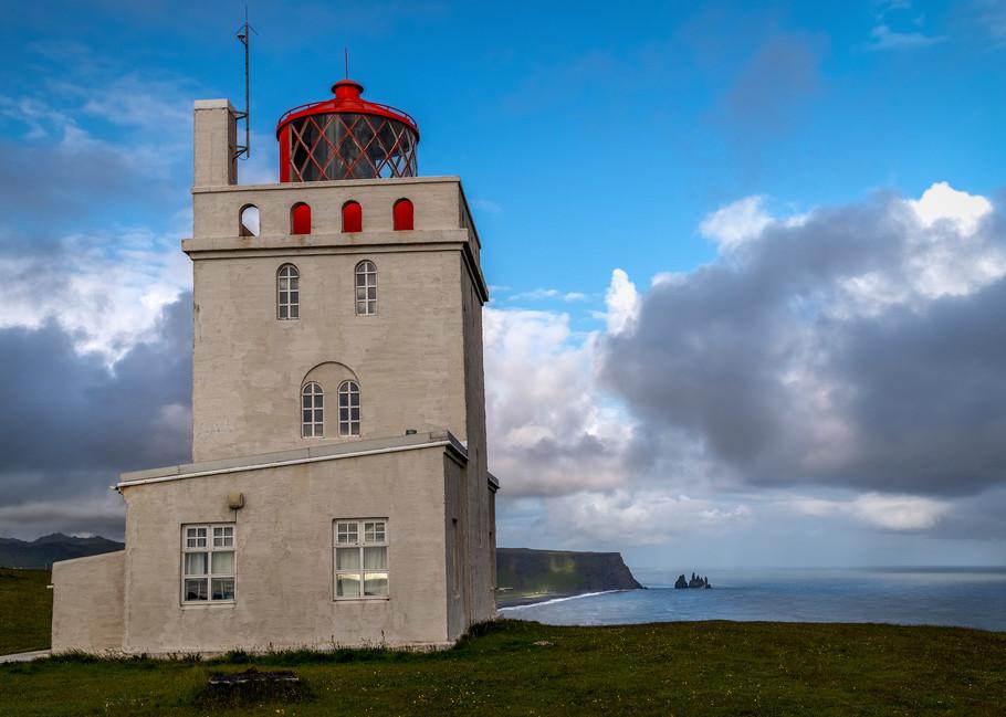 Dyrholaey Lighthouse Iceland Photography Art | Derrick Snider Imagery