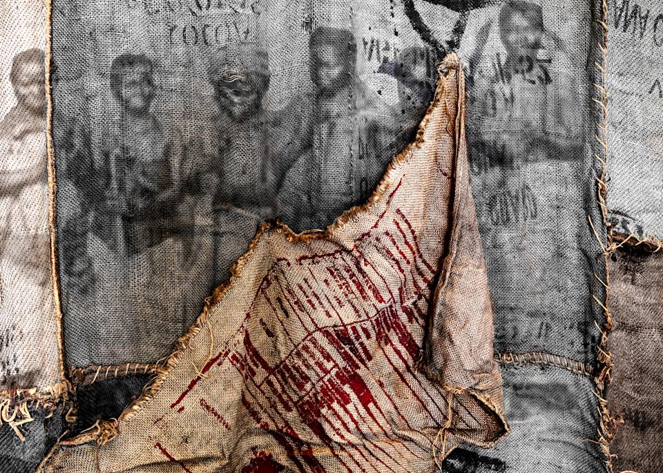 Product of Ghana No. 1, 2016 by artist Carolyn A. Beegan