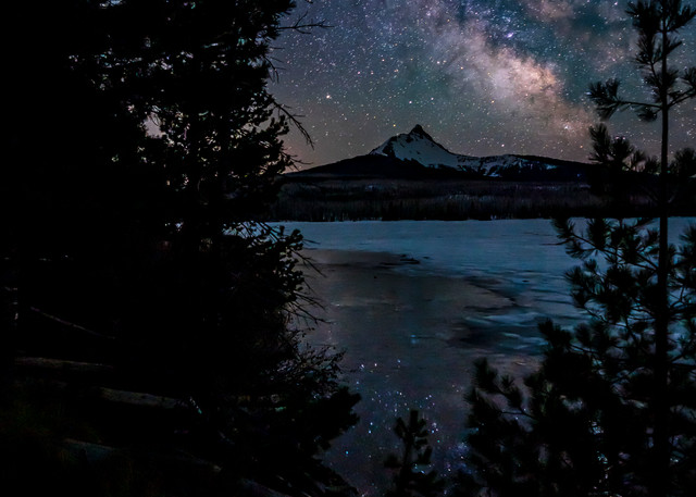 Big Lake Milky Way
