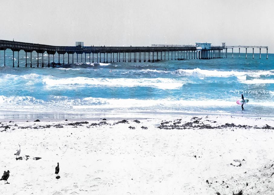 Ocean Beach Pier Photography Art | Rosanne Nitti Fine Arts