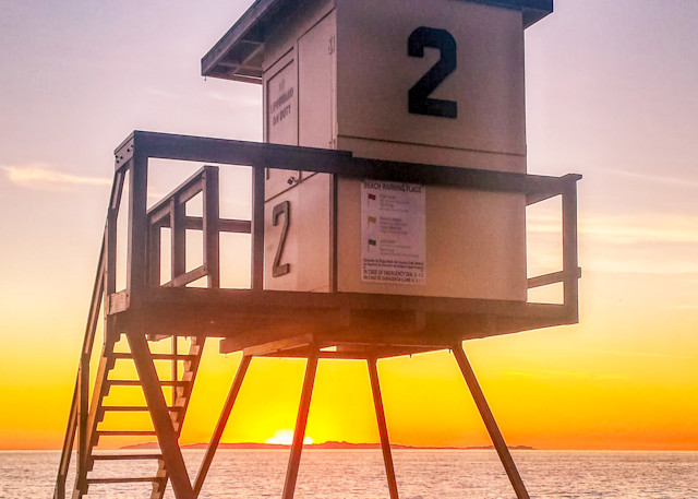 Huntington Beach Lifeguard 2 Photography Art | Rosanne Nitti Fine Arts