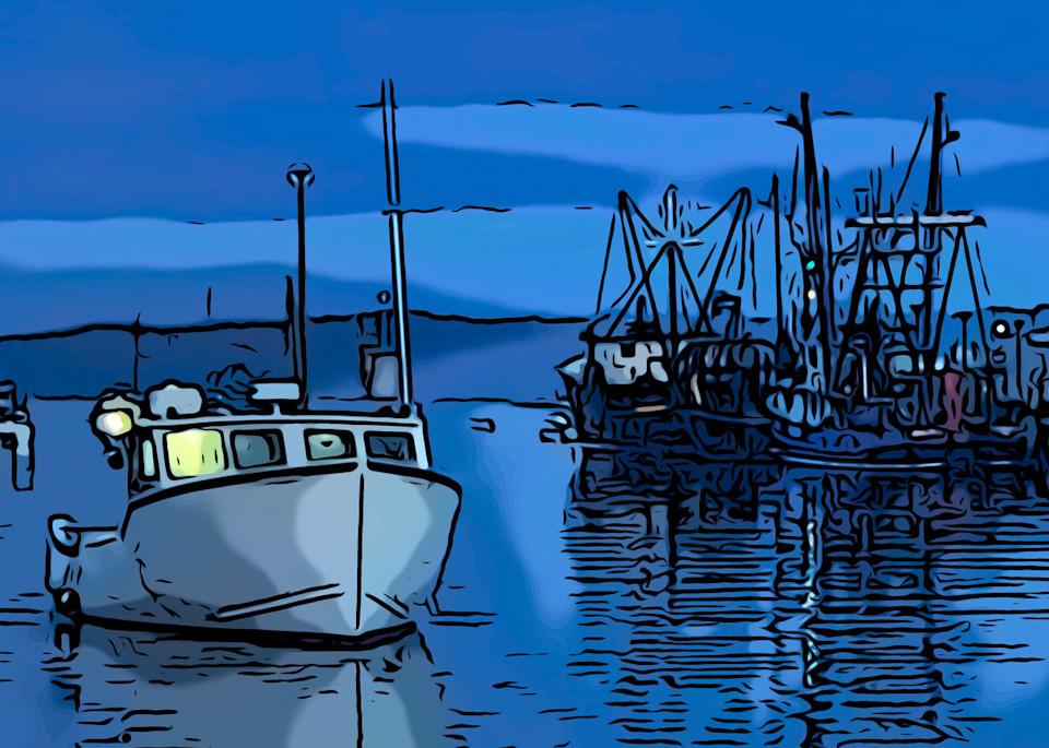 Blue Dawn Art | capeanngiclee