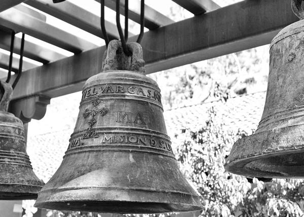 M Ission San Luis Obisbo Bells Photography Art   Rosanne Nitti Fine Arts