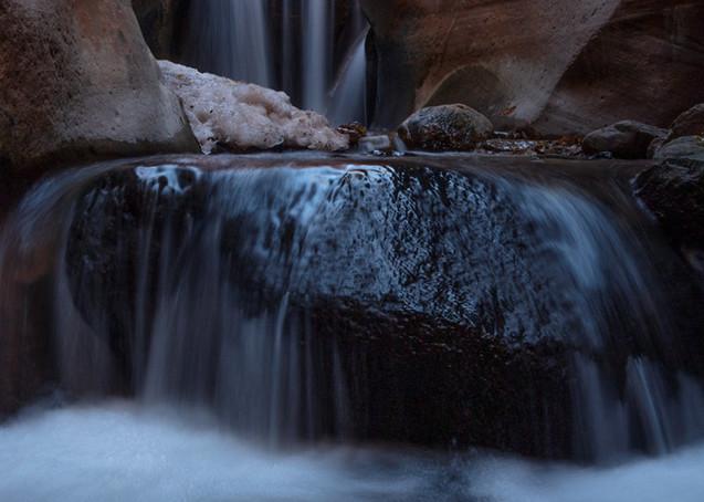 Kanarraville Slot Canyon Upper Falls Photograph 3048 | Kanarra Creek Waterfalls | Slot Canyon Photography | Escalante Utah Photography | Koral Martin Fine Art Photography
