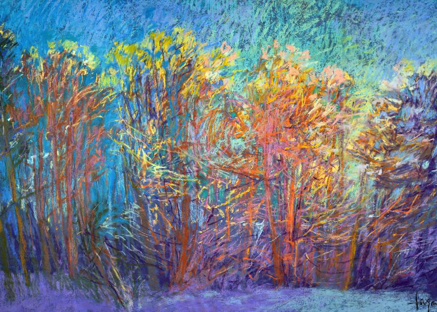 Sparkly In The Woods Art | Dorothy Fagan Joy's Garden