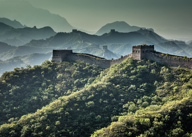 Watch Towers, Gubeikou Great Wall, China, 2017. Photography Art   Tom Stahl Photography