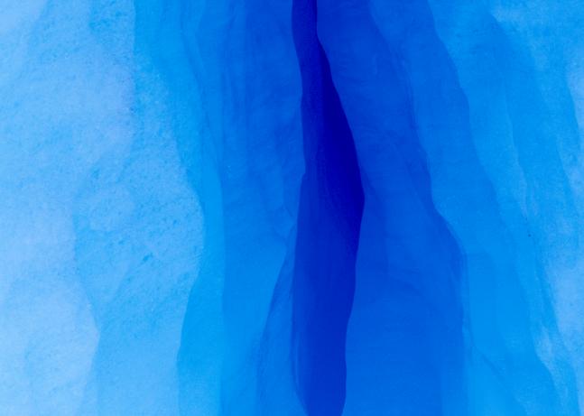 Ice Crevasse, Patagonia, 1998. Photography Art   Tom Stahl Photography