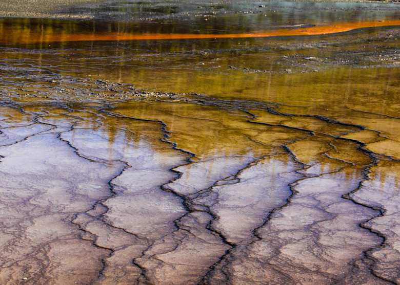 Geyser S Edge Yellowstone Photography Art | Dan Katz, Inc.