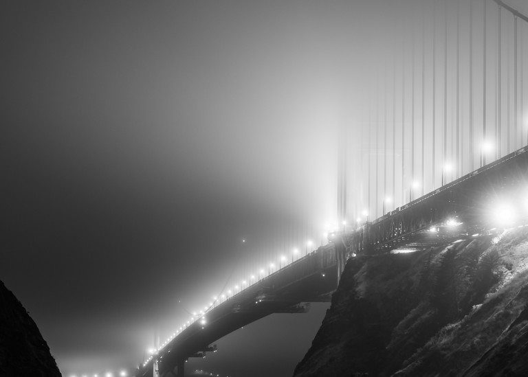 Under the Fog - Golden Gate Bridge, San Francisco