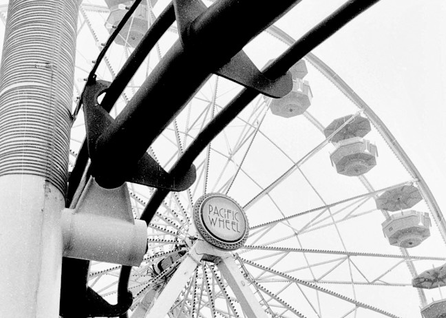 Pacific Wheel Santa Monica Photography Art | Rosanne Nitti Fine Arts