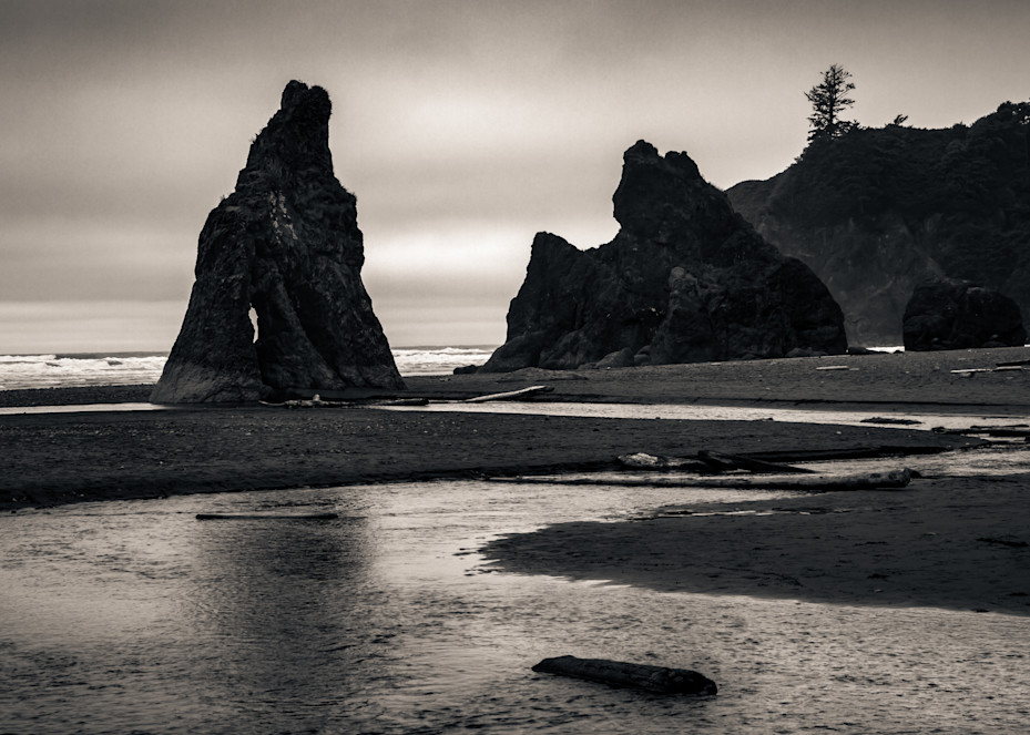 Creek To Second Beach Olympic National Park Edit2 Photography Art | Dan Katz, Inc.