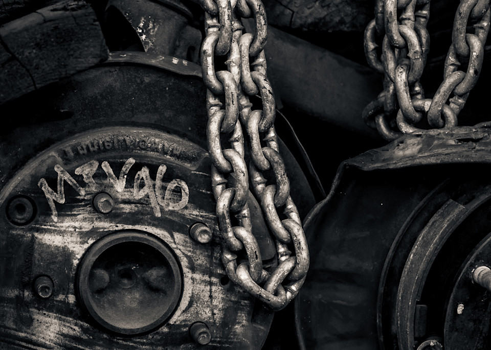 Wheels And Chains Photography Art | Dan Katz, Inc.