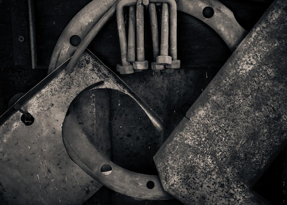 Tool Yard U Bolts Photography Art | Dan Katz, Inc.