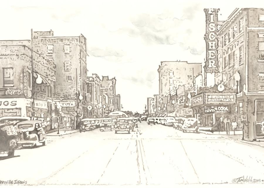 Downtown Danville Art | timwelchfineart