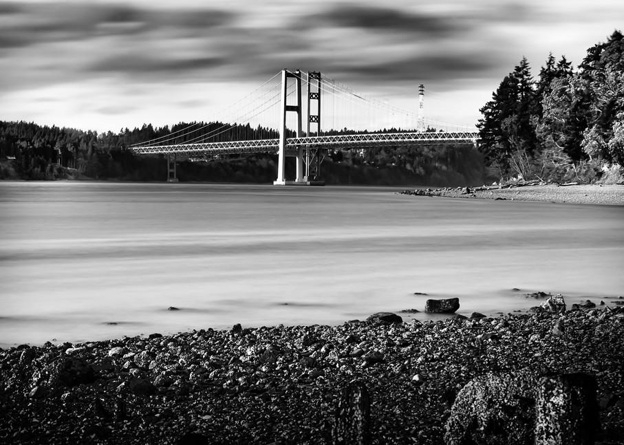 Tacoma Narrows Bridge Photography Art | Troy Mason Photography