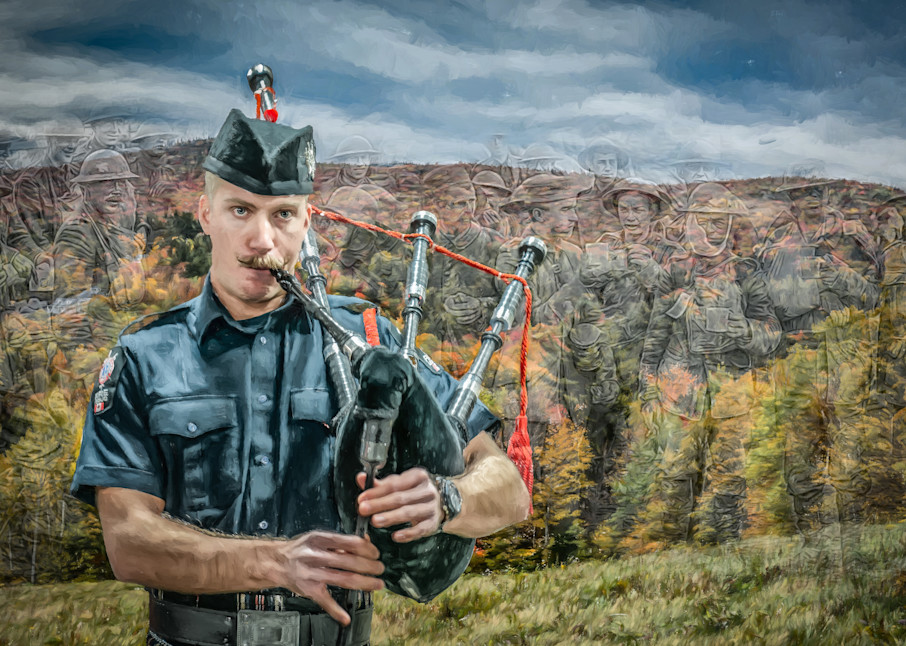 The Piper Art | DanSun Photo Art