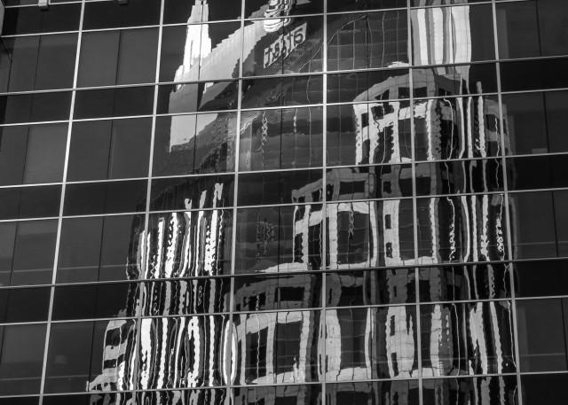 """Art Photography - Nashville's """"Batman Building"""""""