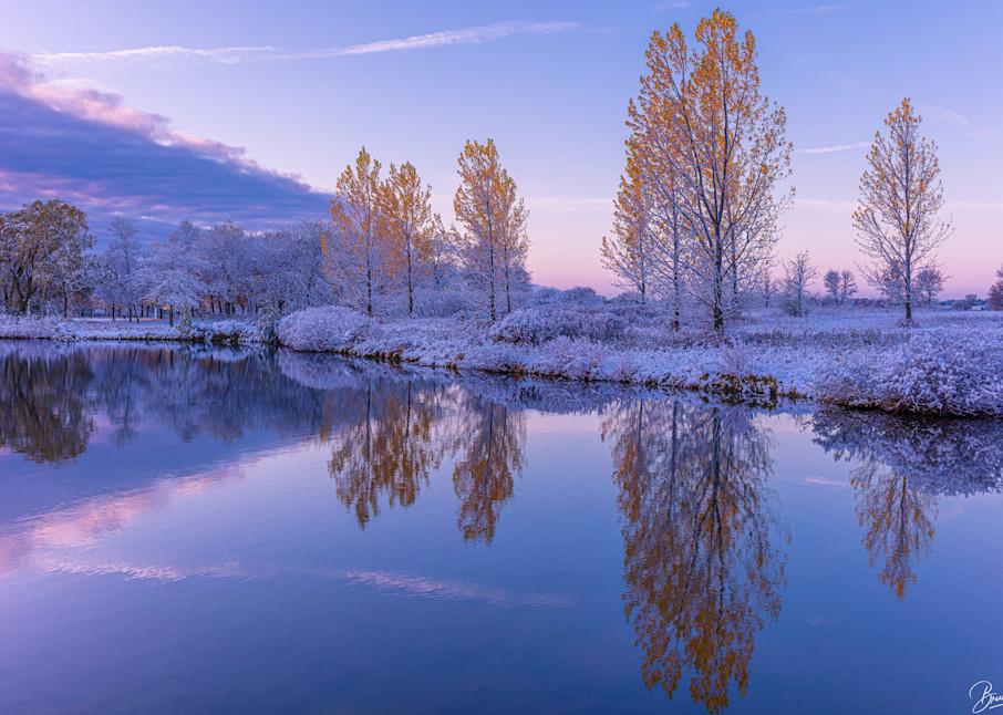 First Snow Photography Art   brucedanz